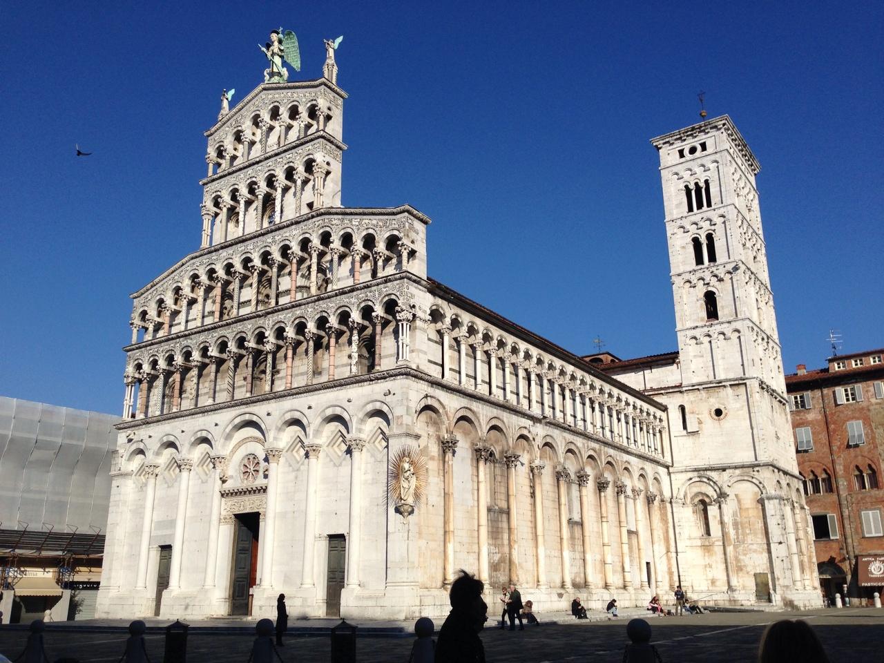 一人旅の息子がLINEで送ってきたイタリアの写真